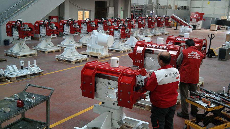 Завод Ozkanlar Makine